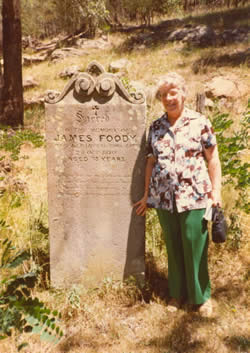 Sligo deportee James Foody's grave